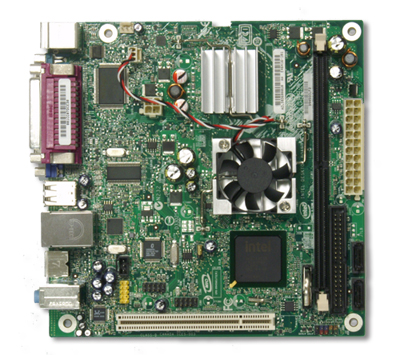 Intel desktop board d945gclf2